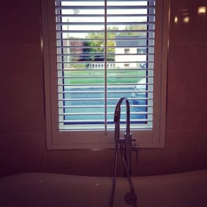 Customer installation Window Shutters Action Blinds Galway