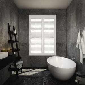 bathroom Window Shutters Action Blinds Galway