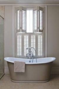 Sante Fe Window bathroom Shutters Action Blinds Galway