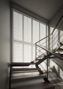 Sante Fe Window Shutters Hallway Stairs Action Blinds Galway