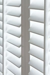 Sante Fe Window Shutters Close Up Wood Action Blinds Galway